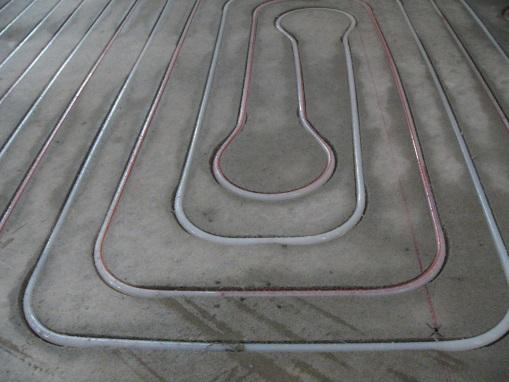 Con l'impianto integrato nel massetto lo spessore del pavimento non ...