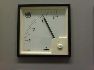 GESTIONE. Il misuratore della potenza elettrica.