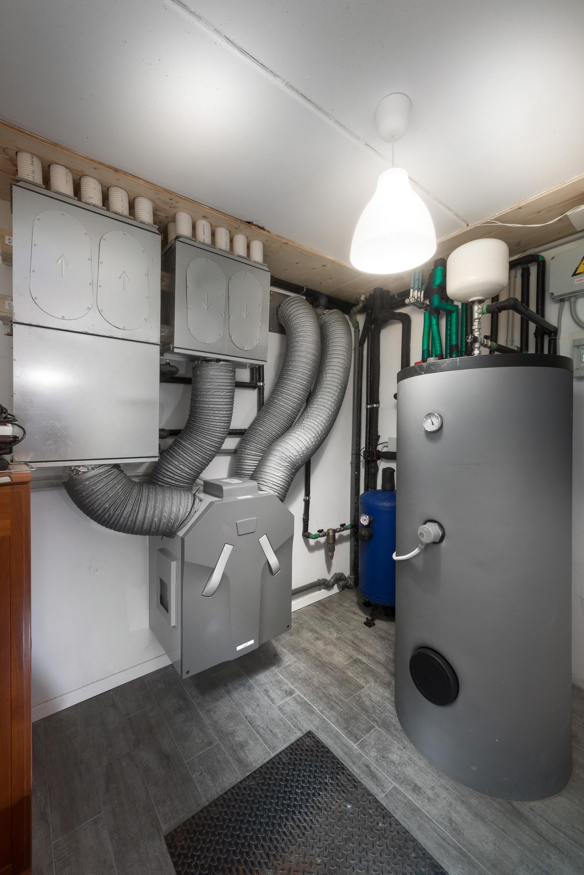 Pompa di calore e vmc per la casa passiva in legno gt il giornale del termoidraulico - Sistema di aerazione per casa ...