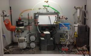 Dispositivo ENEA di campionamento radon.