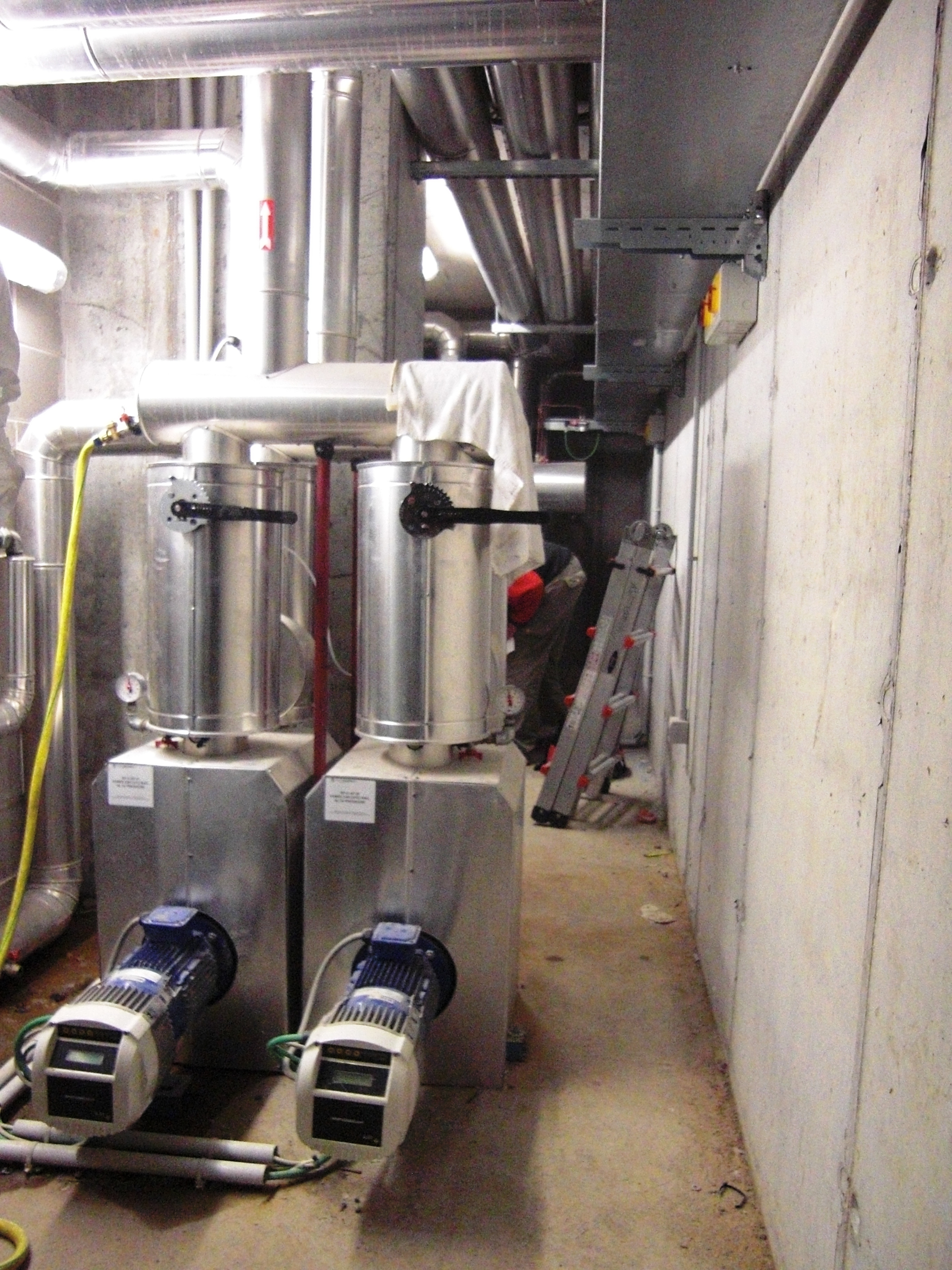 Pompaggio performante per 18 piani di efficienza idrica for Piani dell edificio per la colazione