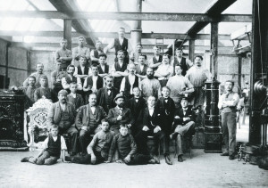 La fabbrica Vaillant nel 1874, anno di fondazione