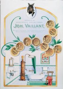 1899. Il logo Vaillant con leprotto compare nelle campagne pubblicitarie