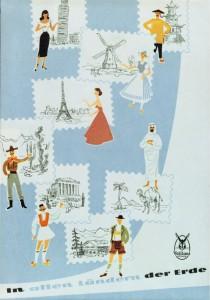 1961. Campagna pubblicitaria internazionale