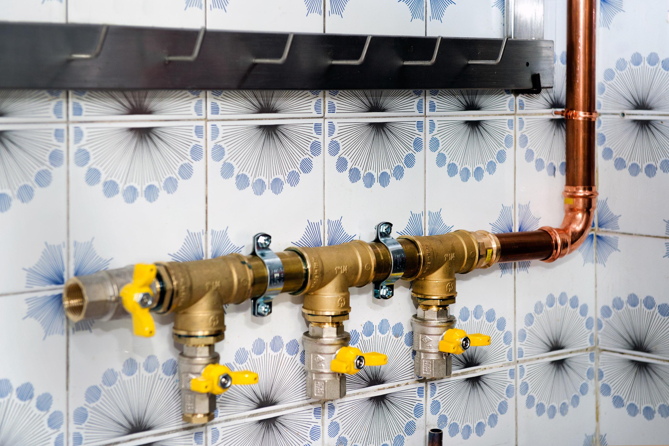 Impianto gas pressfitting per il ristorante gt il - Impianto gas casa ...