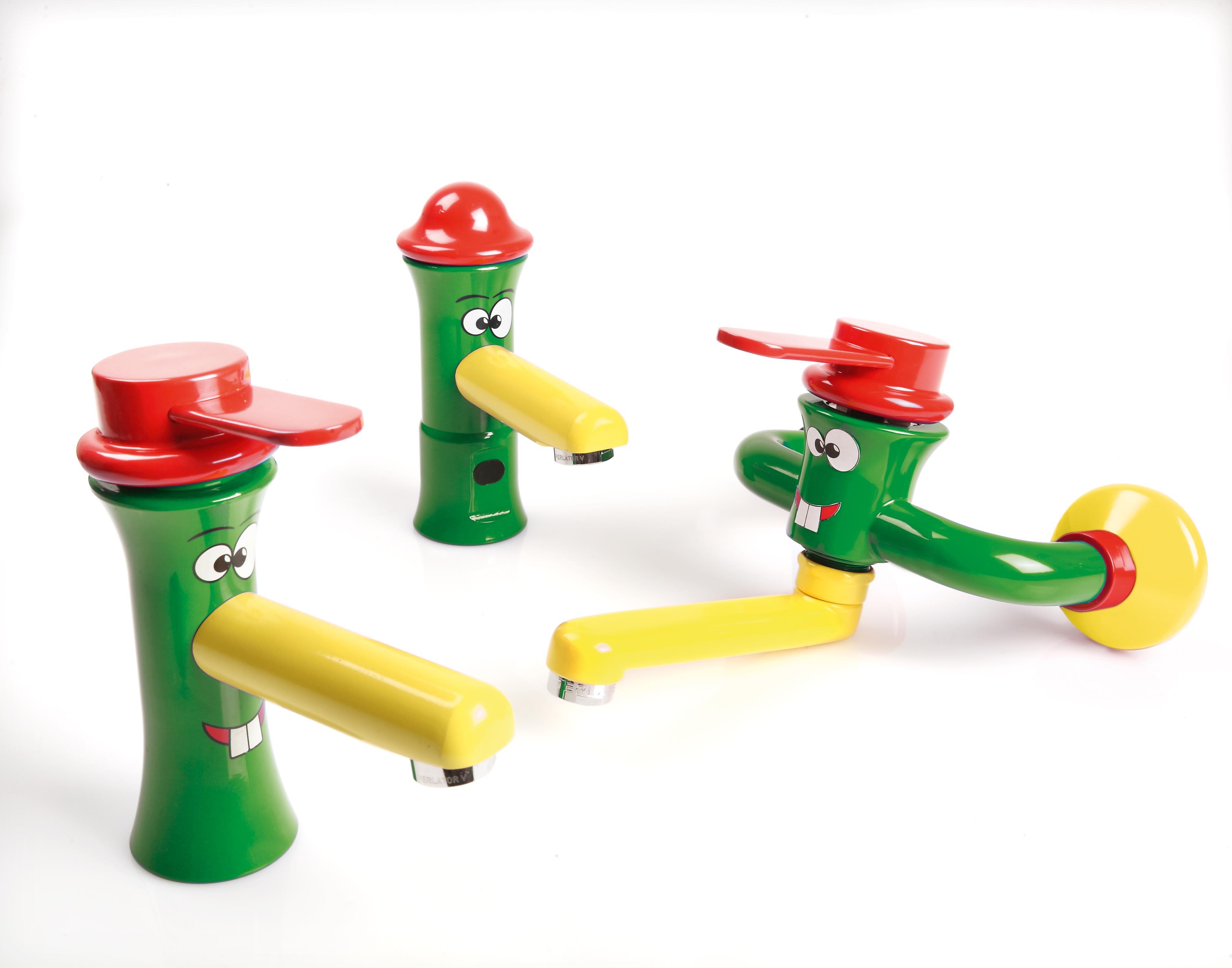 Accessori Per Il Bagno Colorati : Linea di rubinetti accessori colorati e sanitari per bambini gt