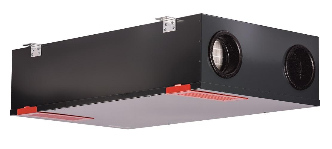 Unit di ventilazione con recupero di calore gt il - Ventilazione recupero calore ...