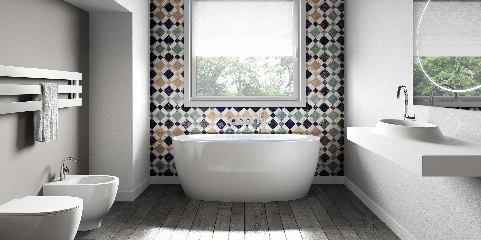 Vasca Da Bagno Quanti Litri Contiene : Attitude è La Nuova Vasca  #637457 1999 999 Sala Da Pranzo Stile Barocco Moderno
