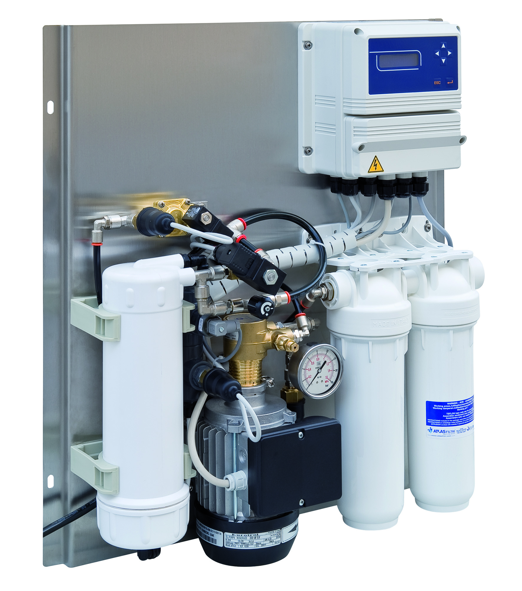 Impianti ad osmosi inversa - GT – Il Giornale del Termoidraulico