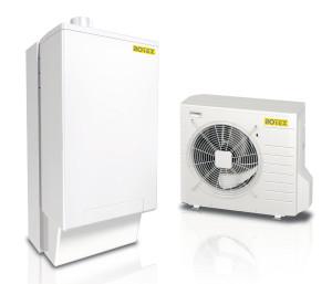 Sistema HPU Hybrid: unità interna ed esterna.
