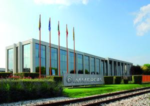 La sede Immergas di Brescello (RE)