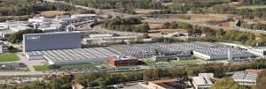 La sede principale di Caleffi a Fontaneto d'Agogna (NO).