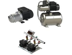 Gamma elettropompe centrifughe.