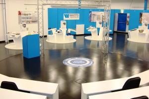 Un particolare della sede italiana di Watts Industries a Biassono (MI).