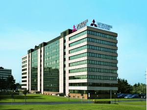 La sede aziendale Mitsubishi Electric ad Agrate Brianza (MI).