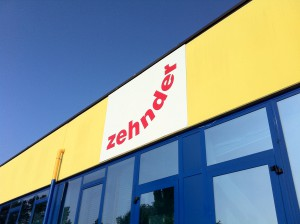 La sede Zehnder Group Italia di Campogalliano (MO).