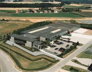 Veduta aerea della sede belga di Ridgid.