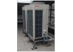 L'IMPIANTO. Il sistema VR-II di Fujitsu assicura a Casa Milan climatizzazione e raffrescamento dei locali tecnici di varia natura presenti nella struttura.
