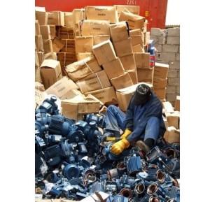 Distruzione di elettropompe Pedrollo contraffatte