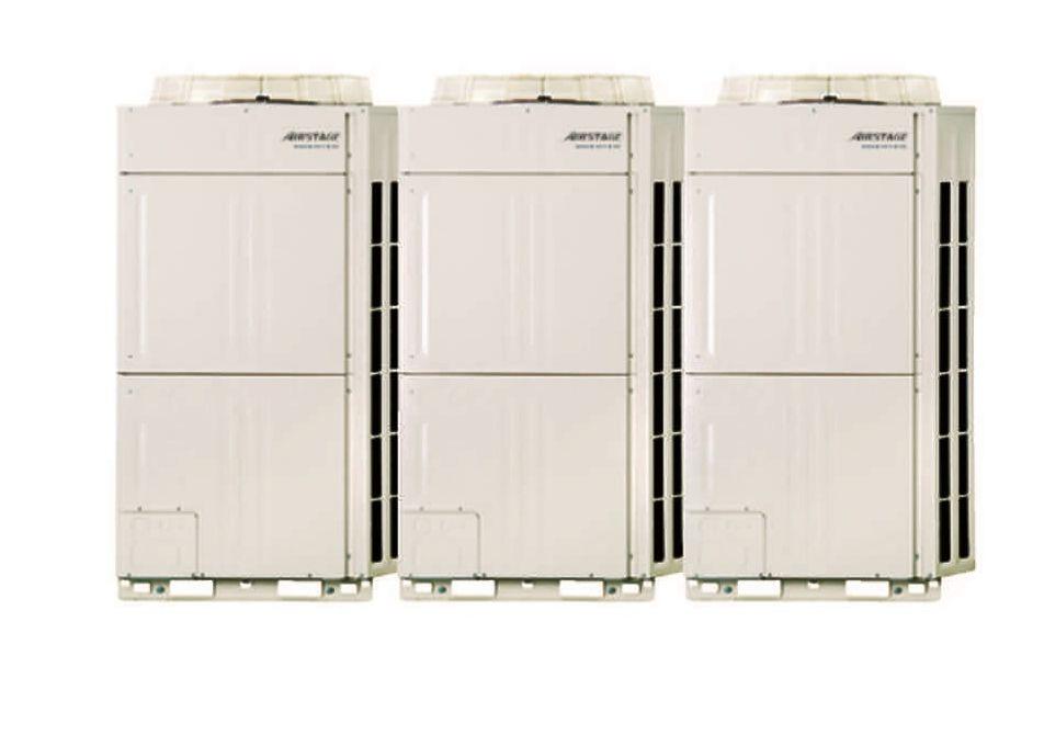 Climatizzatori con sistema a flusso di refrigerante for Ventilatore refrigerante