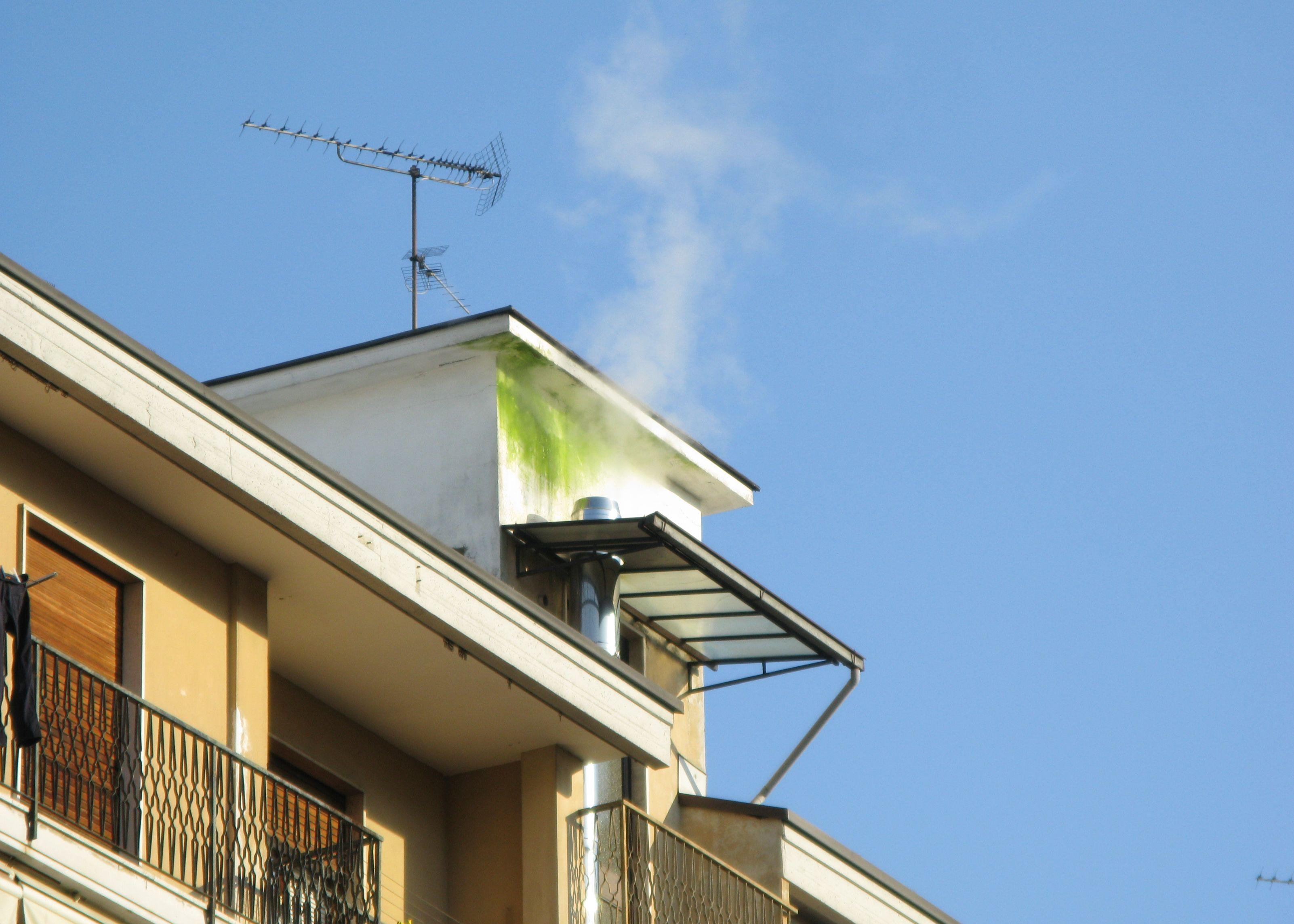 Canna fumaria non all 39 altezza gt il giornale del termoidraulico - Costo canna fumaria esterna al metro ...