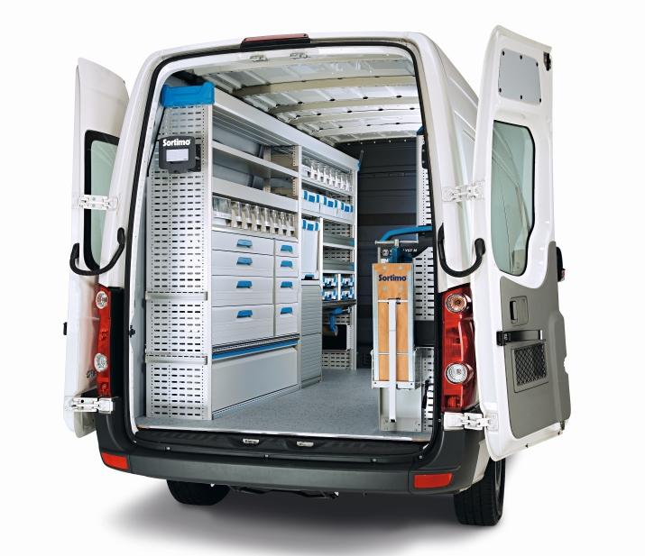 TIT Sortimo Globelyst furgone