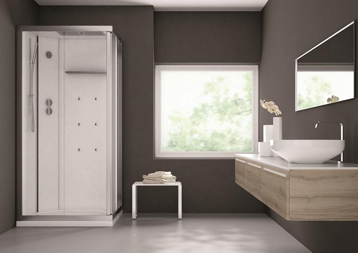 La cabina doccia che crea un oasi di relax in bagno gt for Un bagno in cabina
