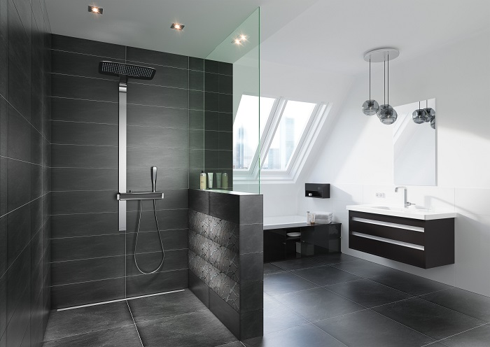 Wedi bagno realizzato con pannelli Wedi