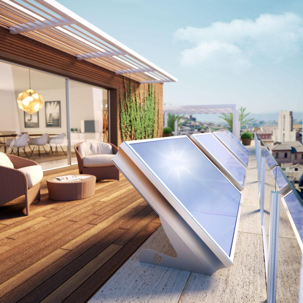 Pannello Solare Termico Integrato : Pannello solare termico con accumulo integrato gt il