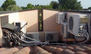 """Predisposizione climatizzatori """"ingegnosa"""""""