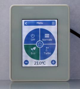 DISPOSITIVO dal design semplice ed elegante che racchiude un sistema intelligente ed innovativo.