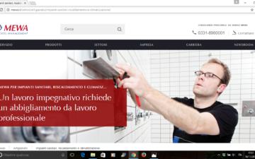Online il nuovo sito MEWA in diciannove lingue