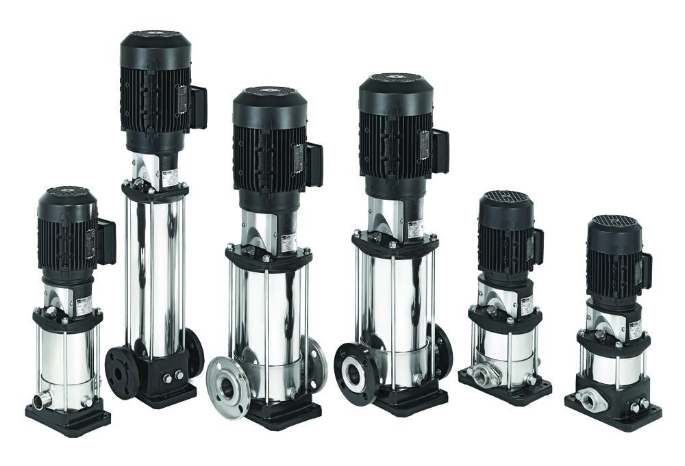 GAMMA di pompe multistadio verticali EVMS.