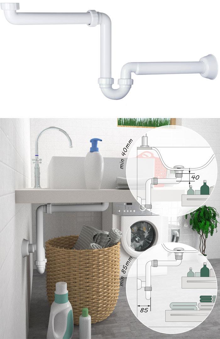 Sifone salvaspazio per mobili bagno - GT – Il Giornale del ...