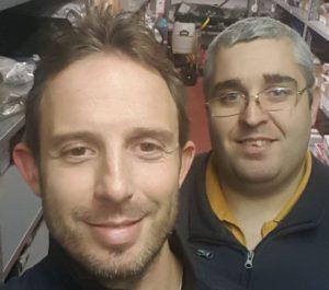 Da sx, Matteo Colombo, titolare di BALDINA snc di Tradate (VA). A dx, Luca Capozzoli, responsabile magazzino.