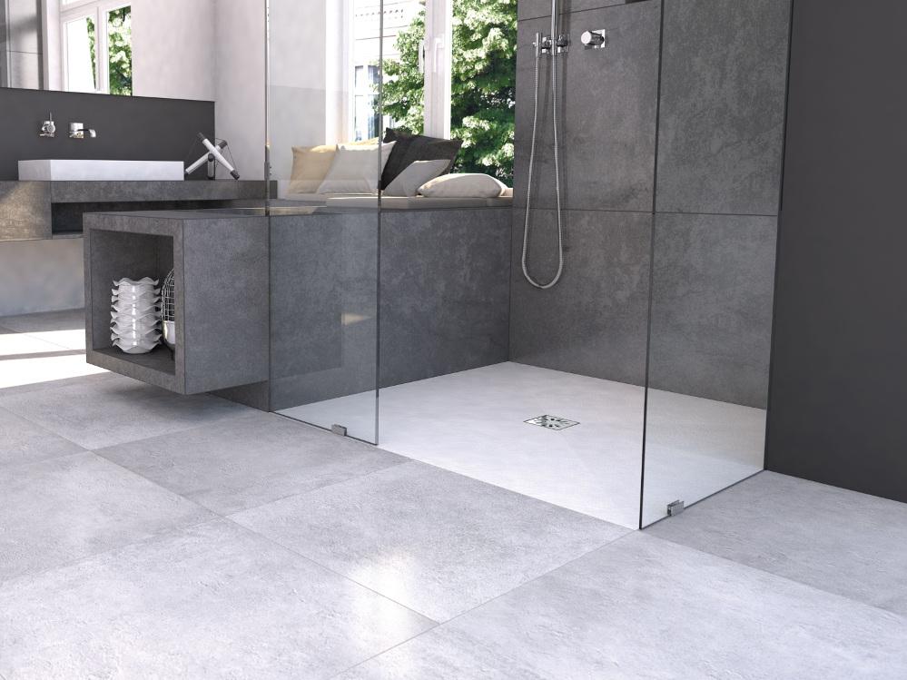 Rivestimento per doccia filo pavimento wedi fundo top - Doccia a pavimento costi ...