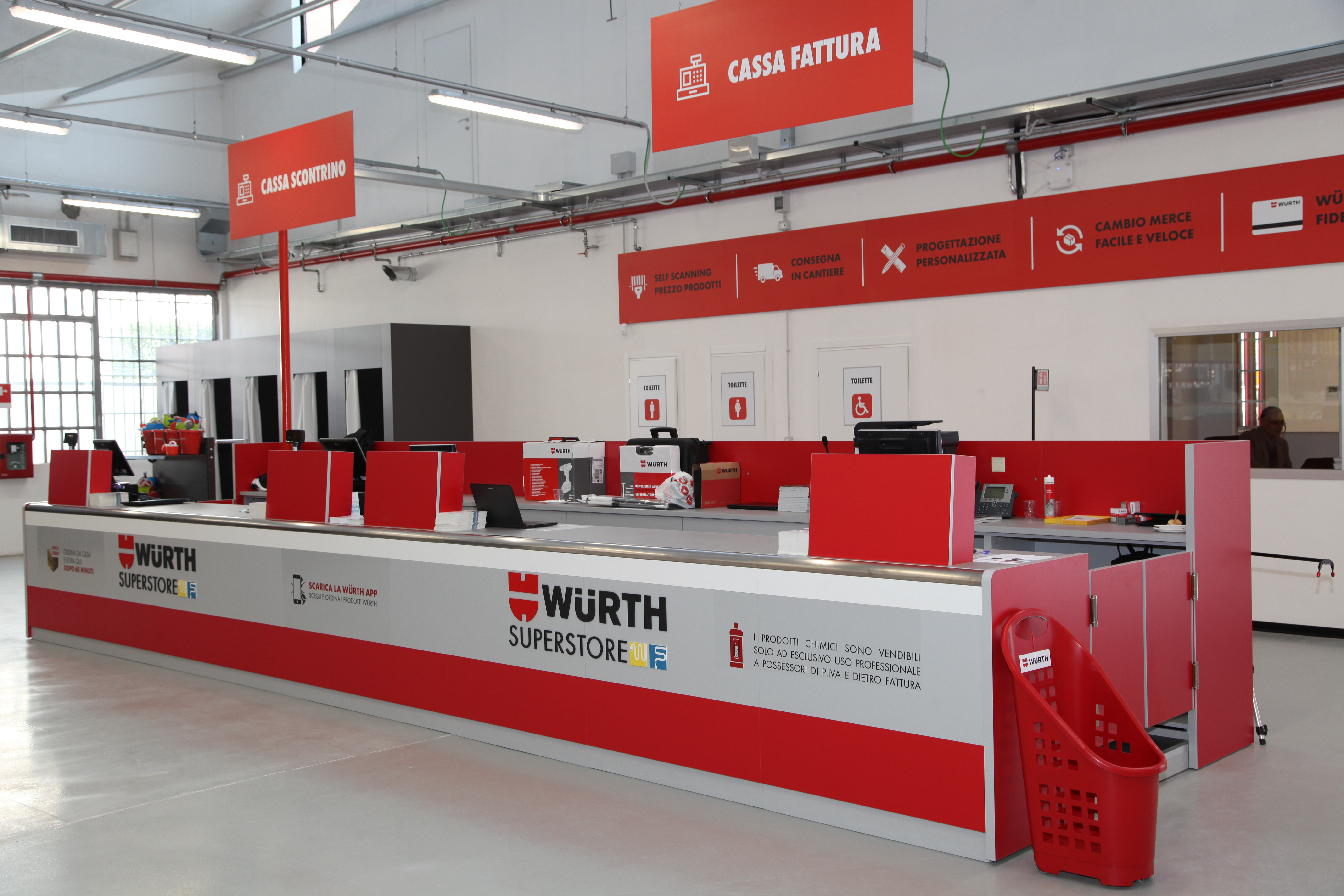 Banco Di Lavoro Wurth : Würth apre a pero il nuovo format di rivendita dedicato a
