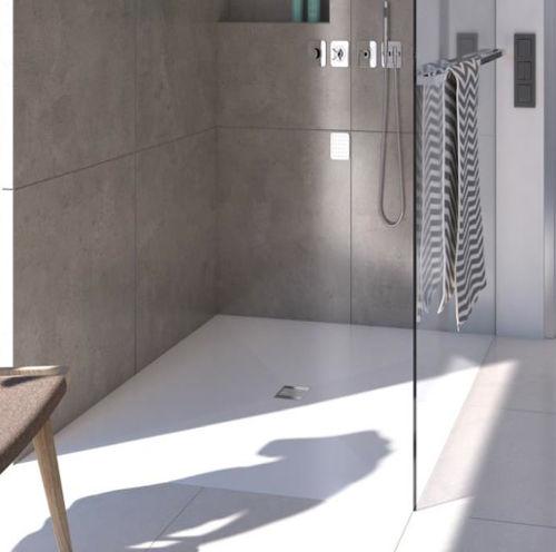 Piatto doccia filo pavimento in 6 mm robusto e - Piatto doccia incassato nel pavimento ...