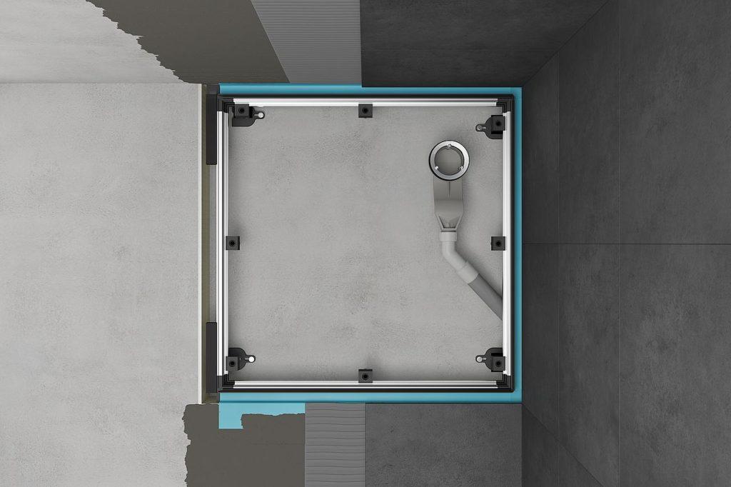 Bette. flessibilità e vantaggi nella posa dei piatti doccia