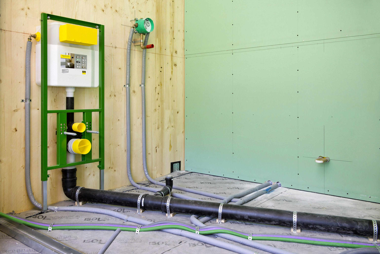 Impianto Idraulico Bagno Multistrato.Installazione Sicura Con I Raccordi A Pressare Gt Il