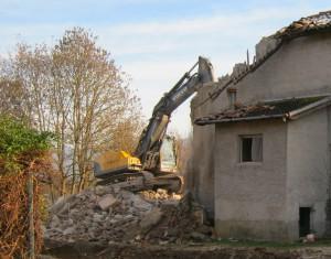 La vecchia casa di campagna come si presentava nel 2011 prima dell'inizio dei lavori di ristrutturazione.