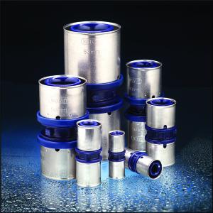 La gamma completa di raccordi Tigris K1 in polifenill sulfone (PPSU) – diametri da 16 a 63 mm.