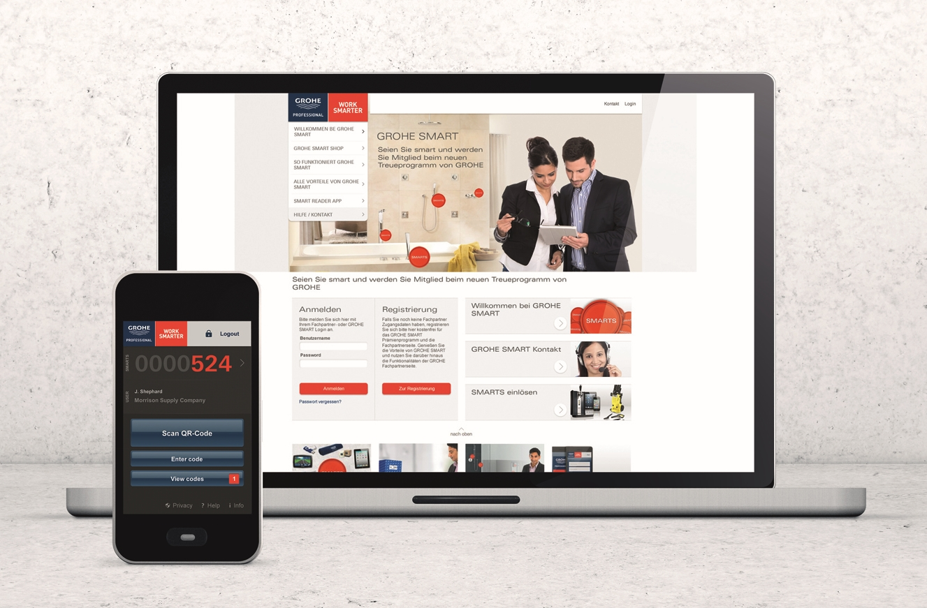 GROHE_Smart Reader App