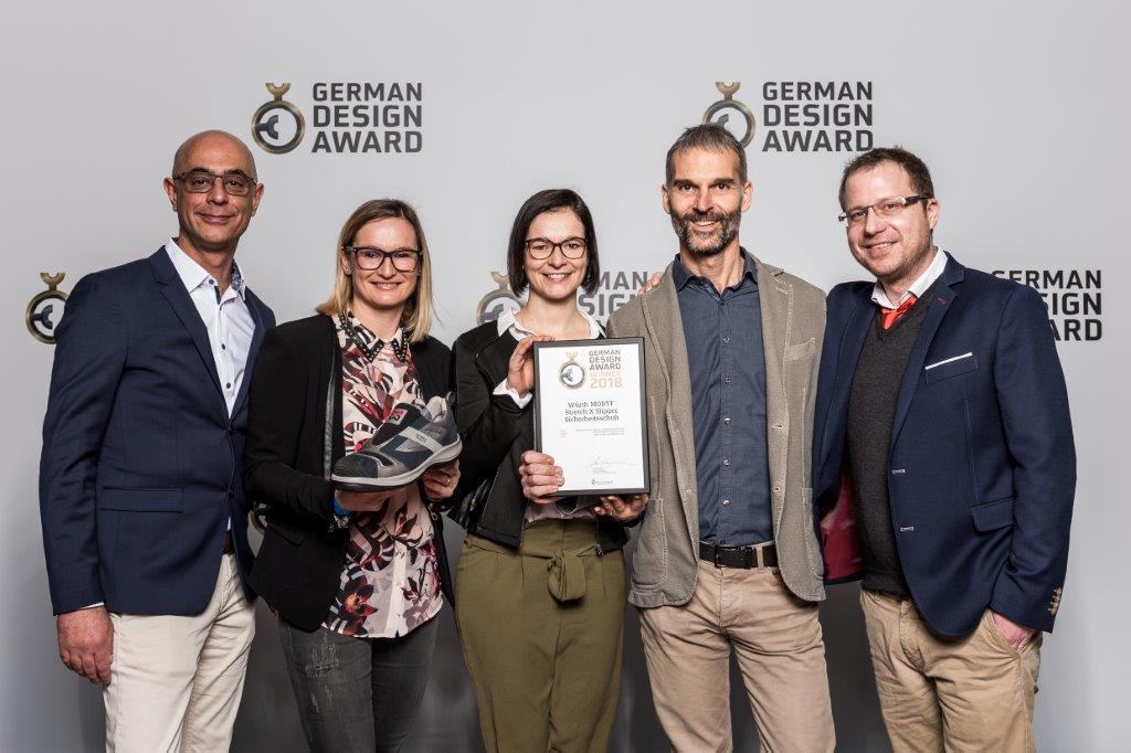 autentico 2019 reale scaricare la consegna Würth Modyf: scarpa antinfortunistica vince il German Design ...