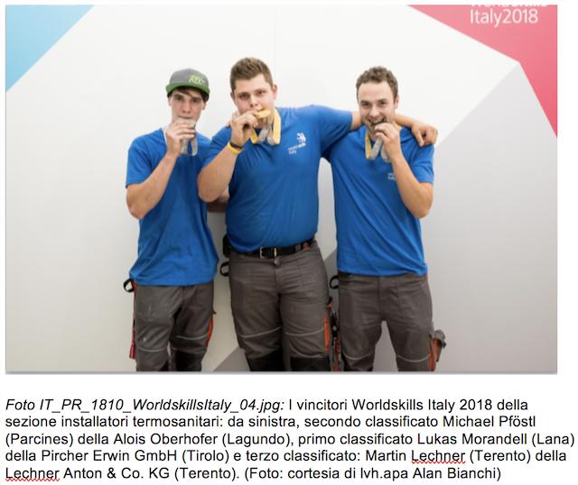 Worldskills Italy