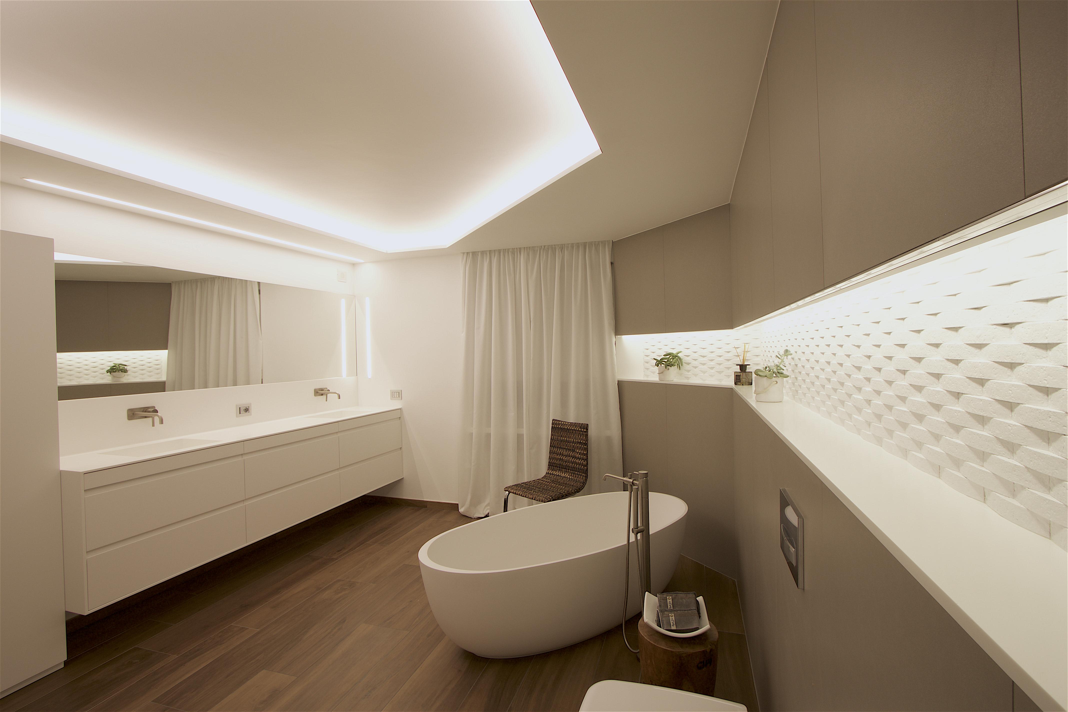 Piano Lavabo In Corian mobile lavabo planit in corian® completamente personalizzato