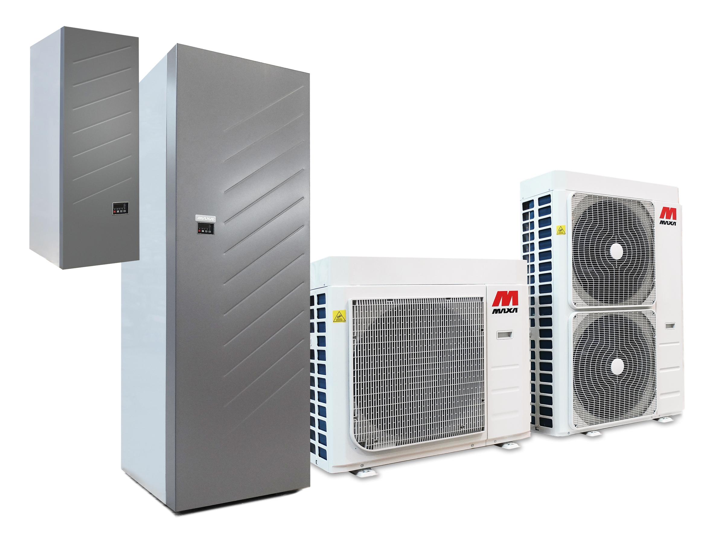 Pompa Di Calore Ventilconvettori maxa: pompe di calore ad inversione di ciclo da 6 fino a 16 kw