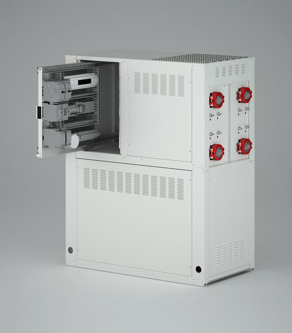Pompa Di Calore Ventilconvettori pompe di calore acqua-acqua per produzione di acqua calda