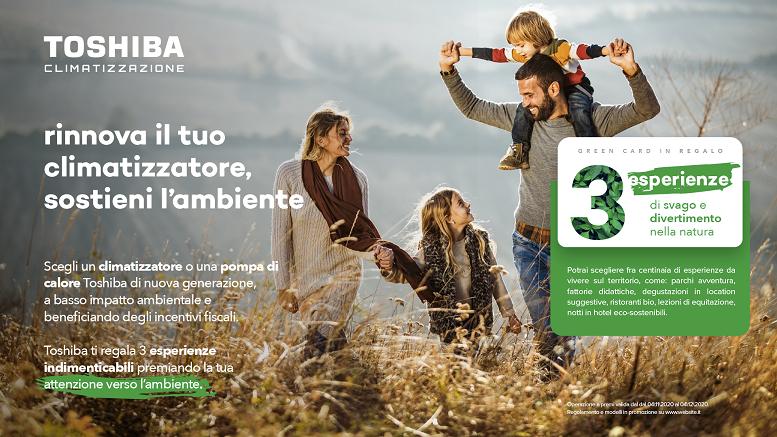 """Toshiba regala Green Experiences"""